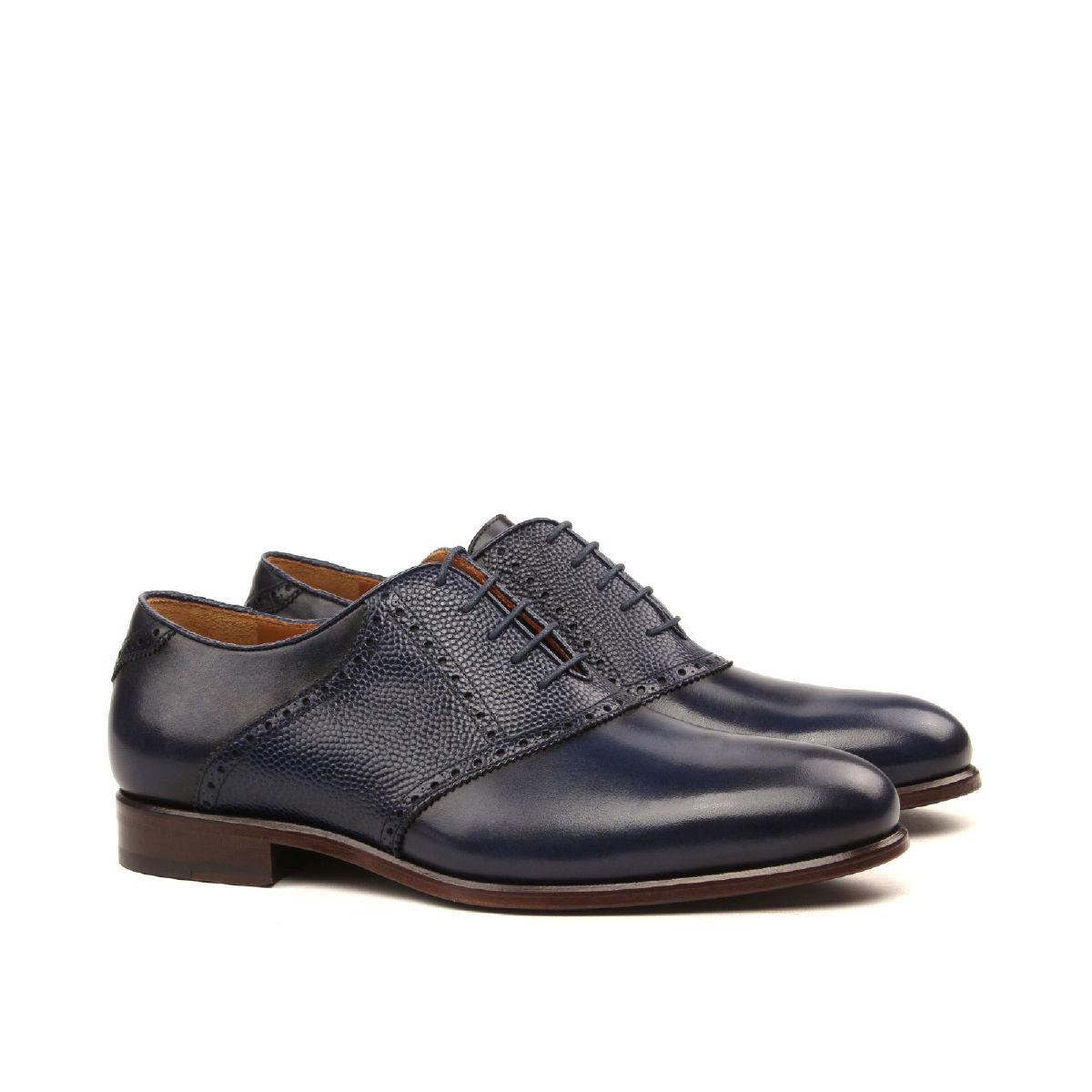 Mens Dress Saddle Shoe