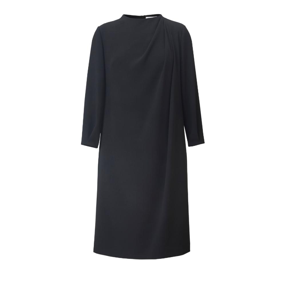 Twiggy-draped-cocktail-dress