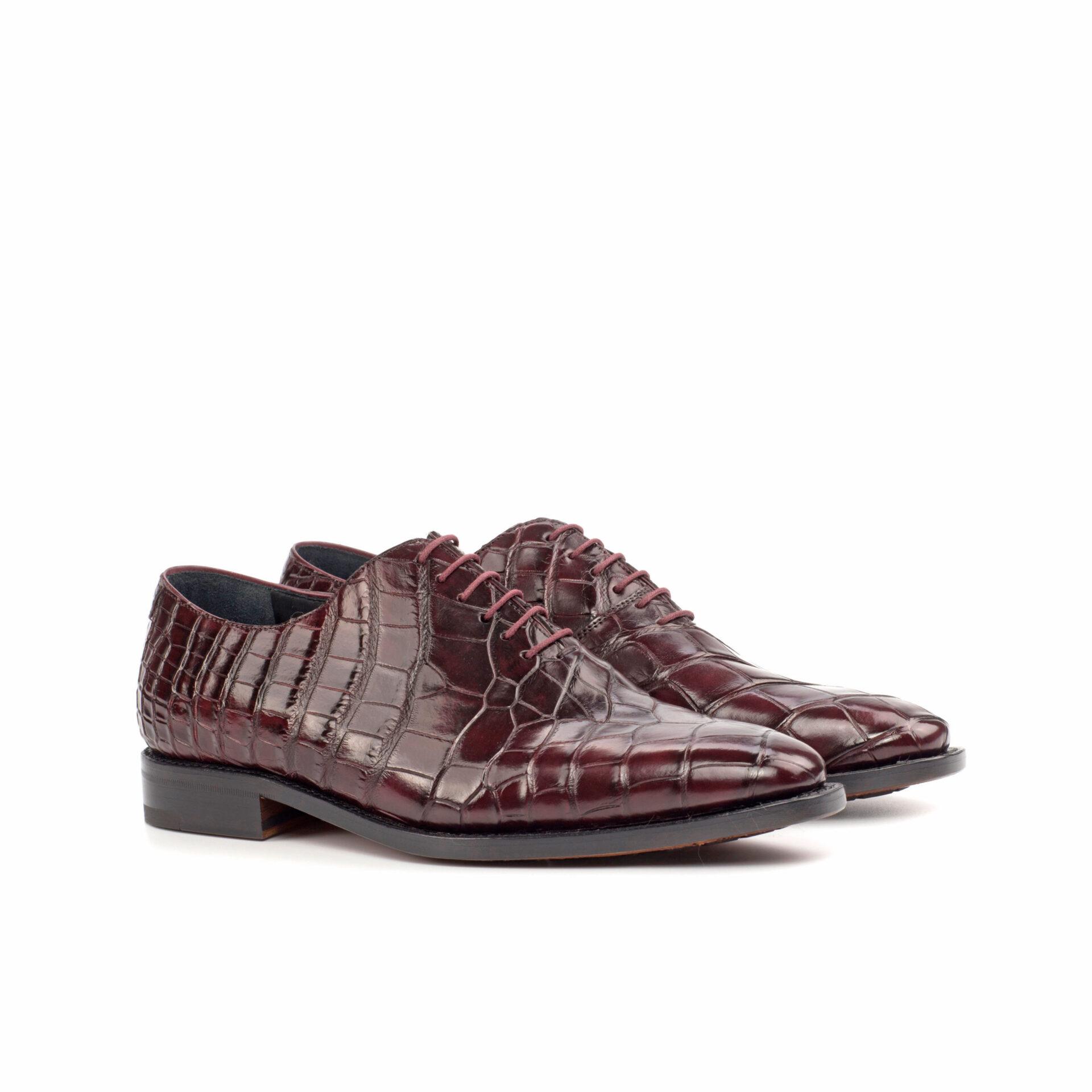 Exotic Skins Whole Cut Shoe