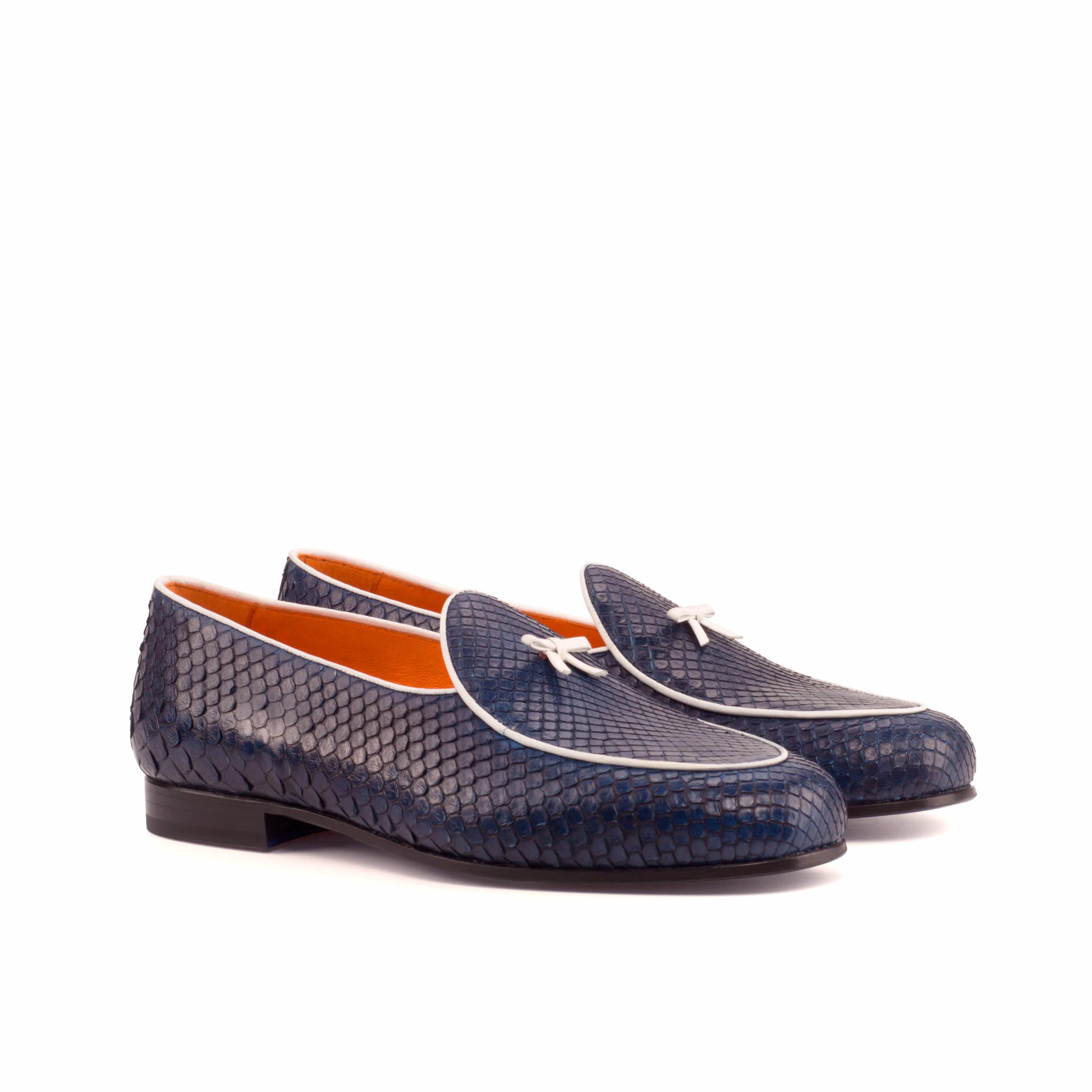 Exotic Skins Belgian Slipper Shoe