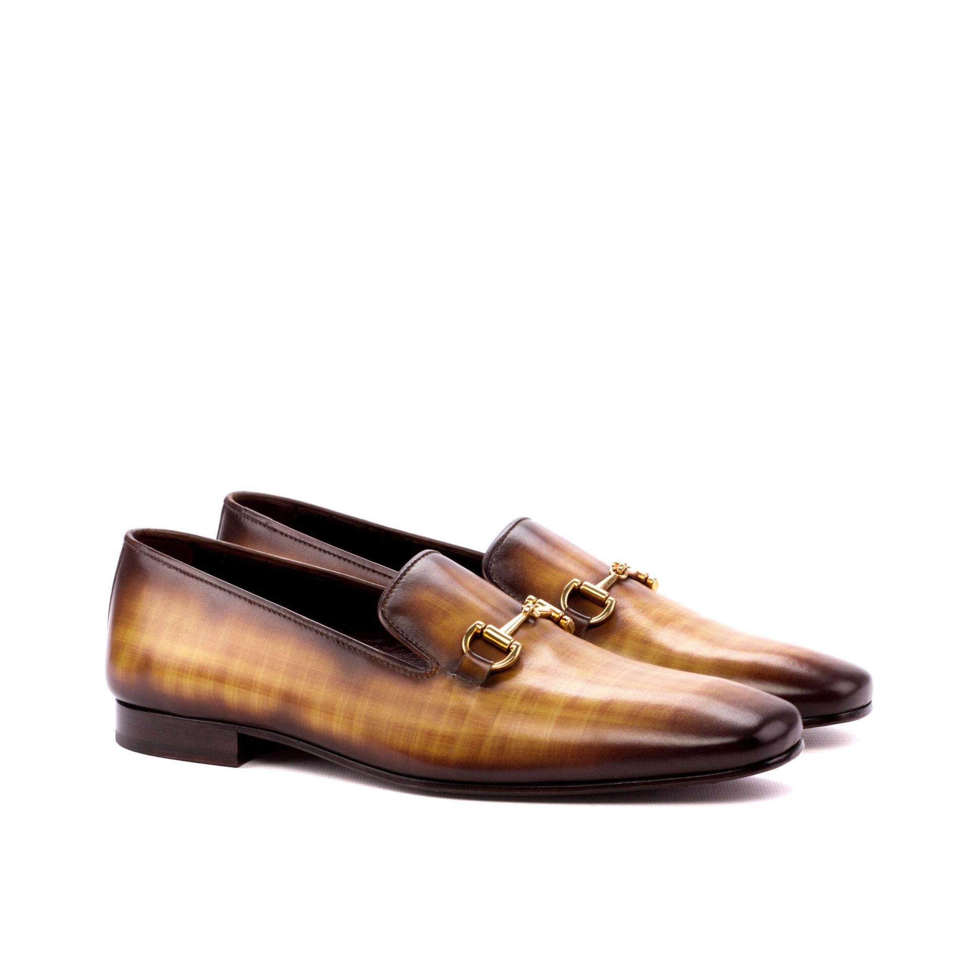 Hand Made Patina Drake Shoe