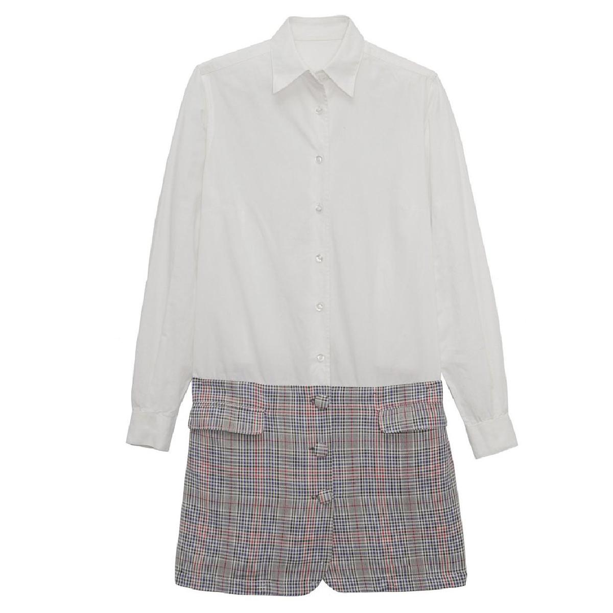Alejandra de coss women´s Shirt half Jacket