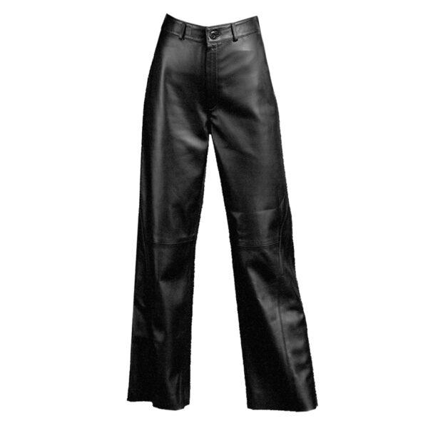 Leather culotte