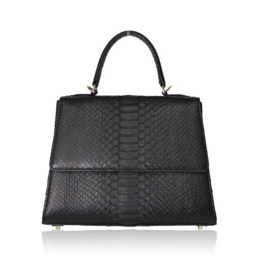 Goldmas 30 Python Leather Bag