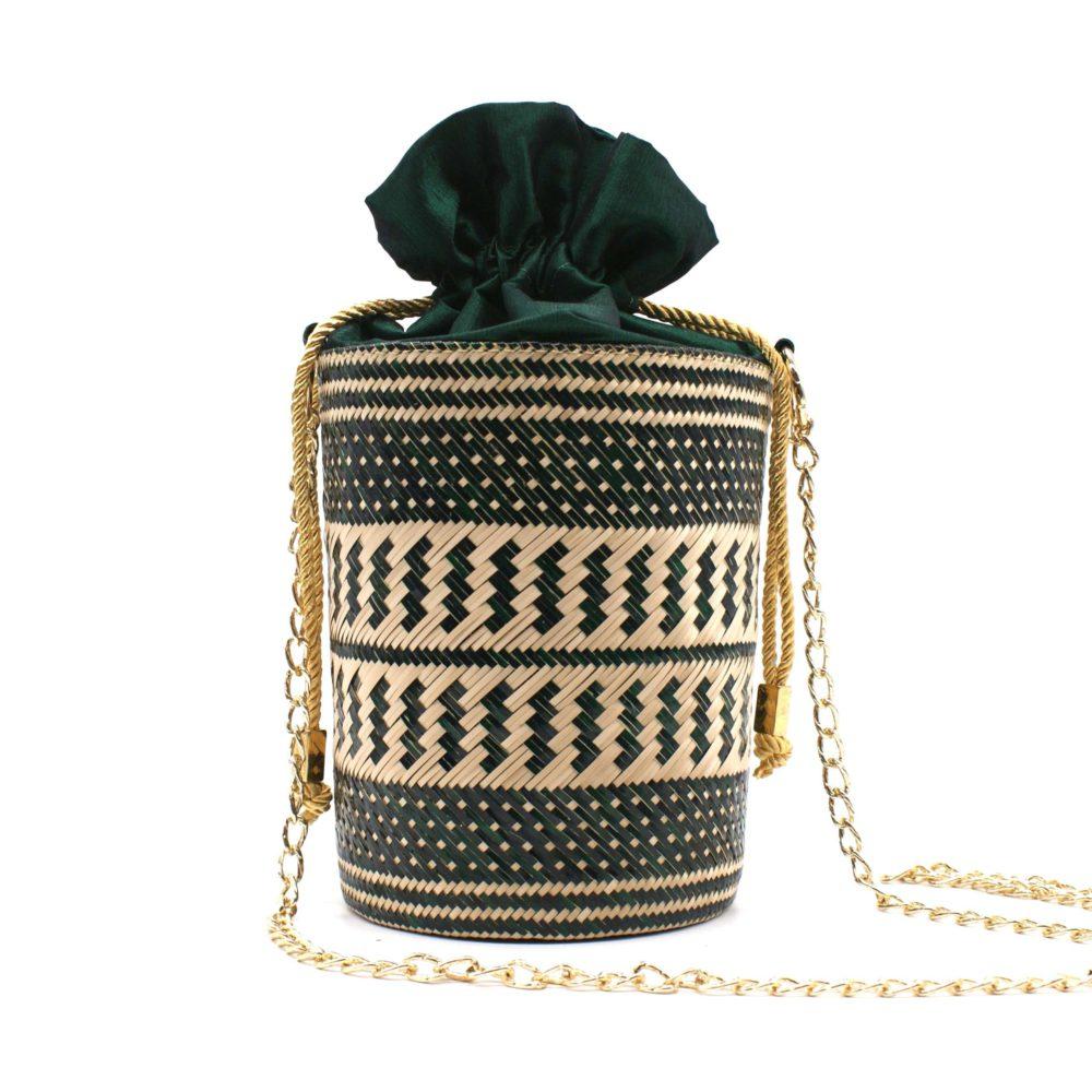 washein green bucked bag