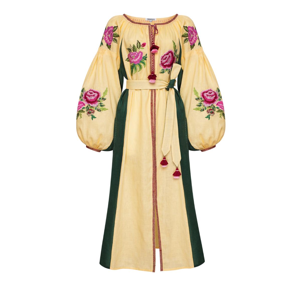 Flora Beige Dress