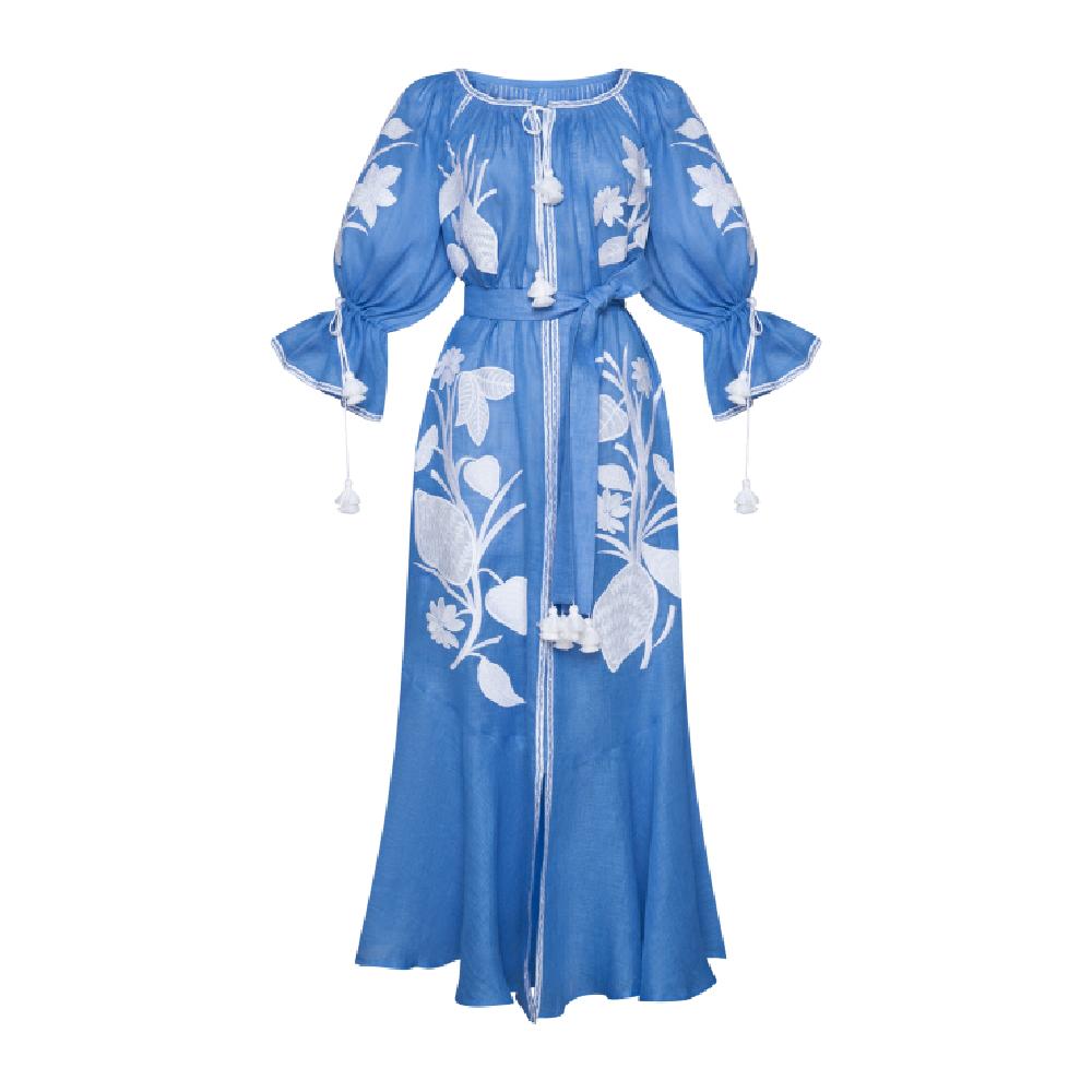 Eden Violet Maxi Dress
