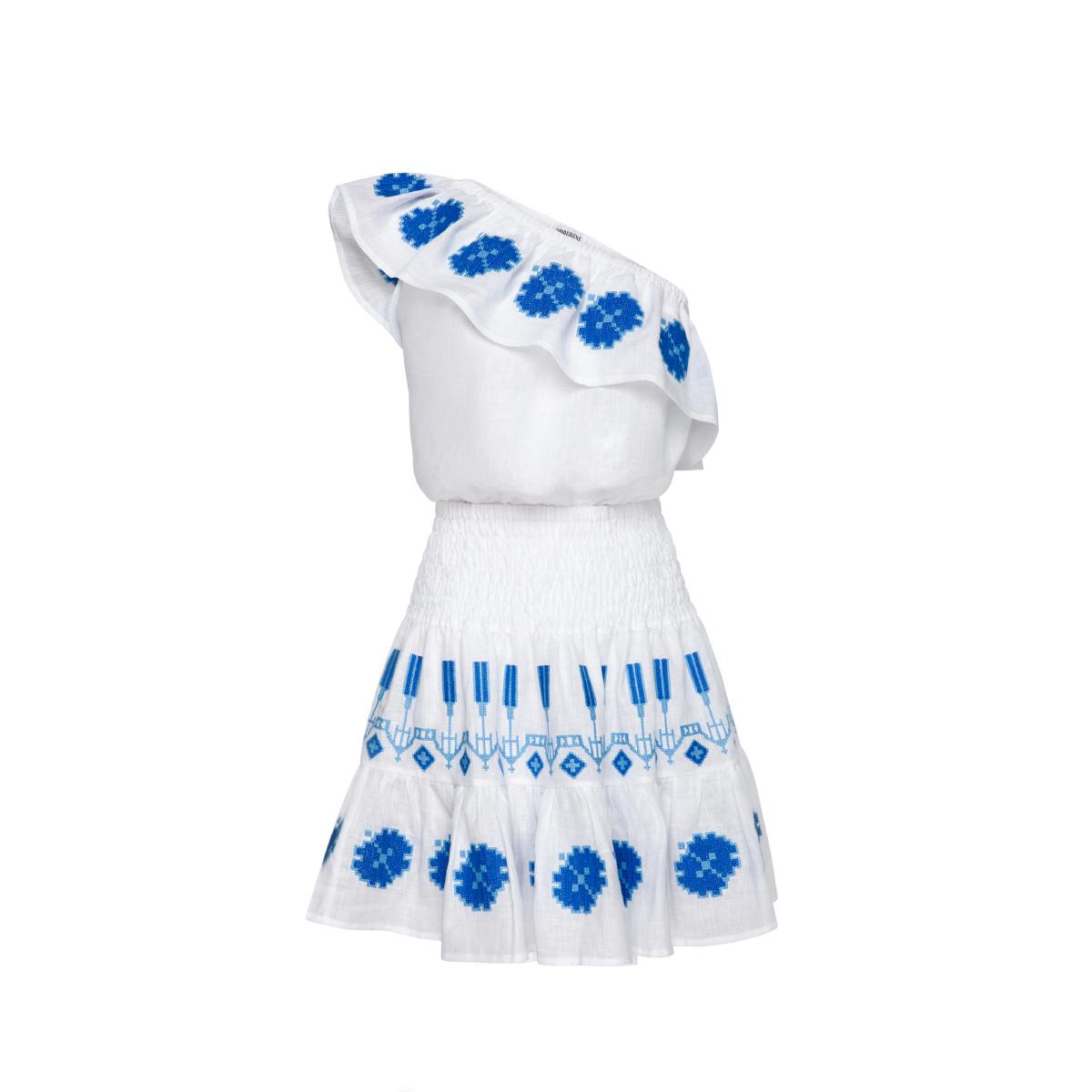 Periwinkle White Costume