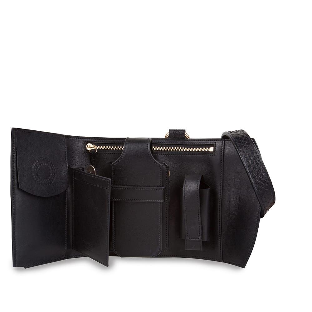 Glorious Gun Python leather