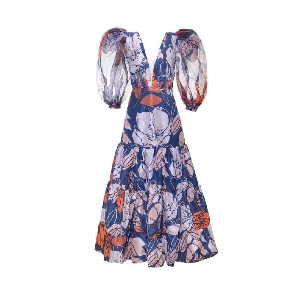 Manglar dark blue dress