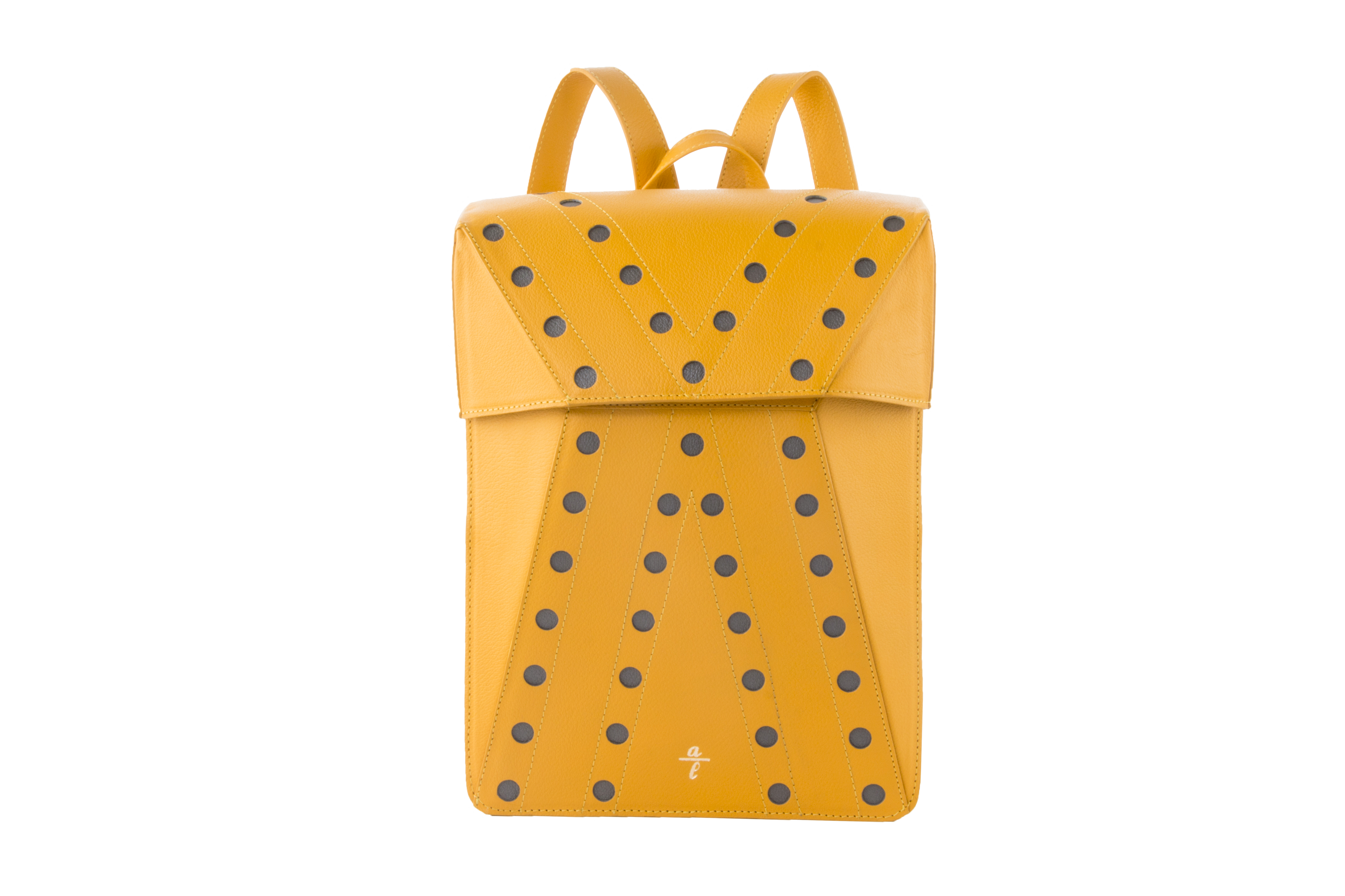 Chrome Free Women's Cata Backpack In Yellow Leather