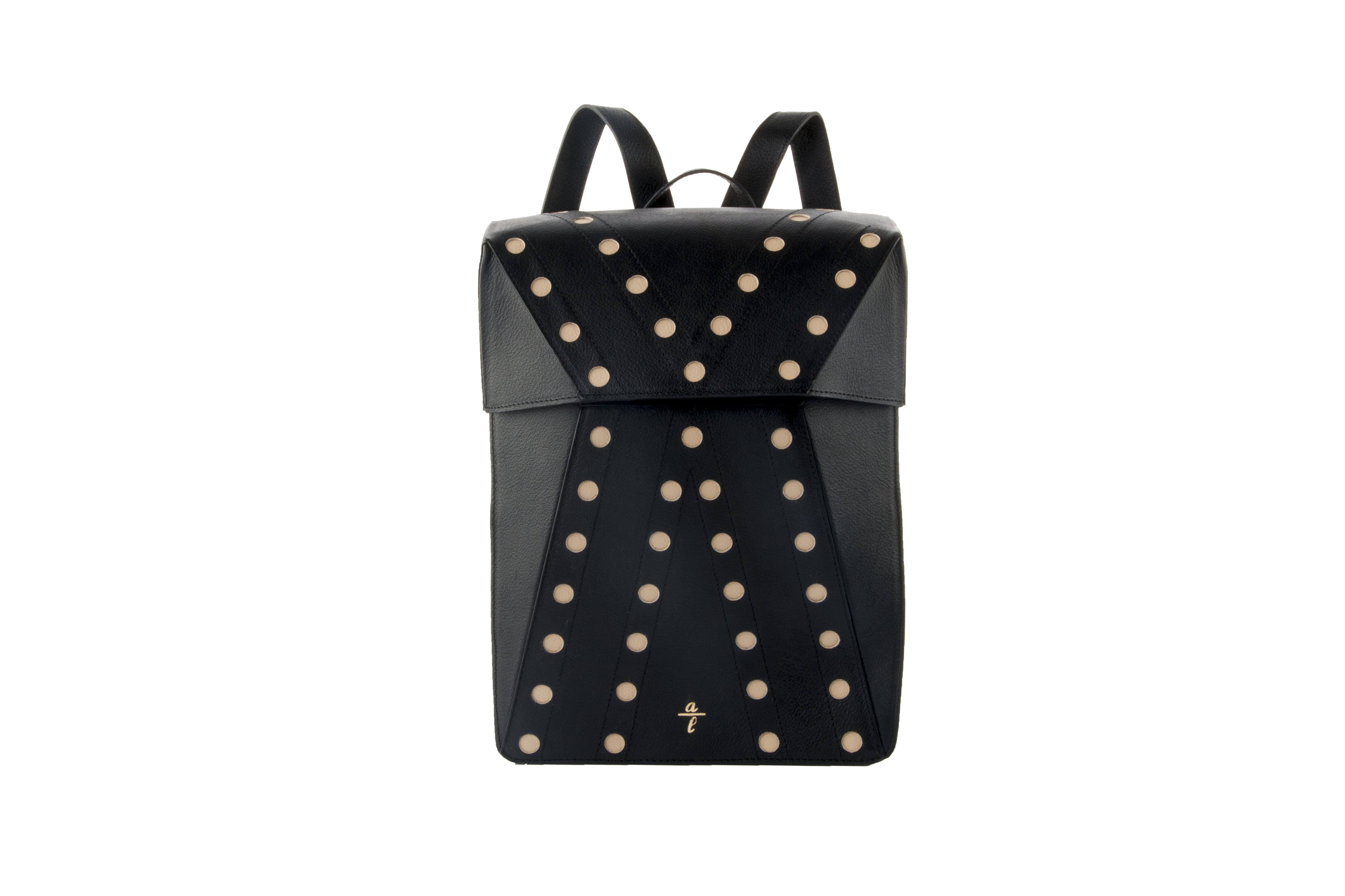 Cata Backpack In Black Leather