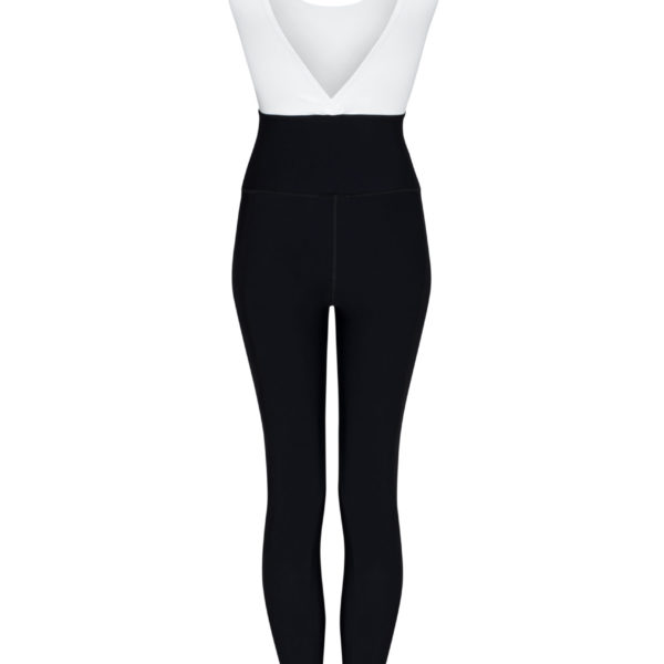 sport jumpsuitblack and white