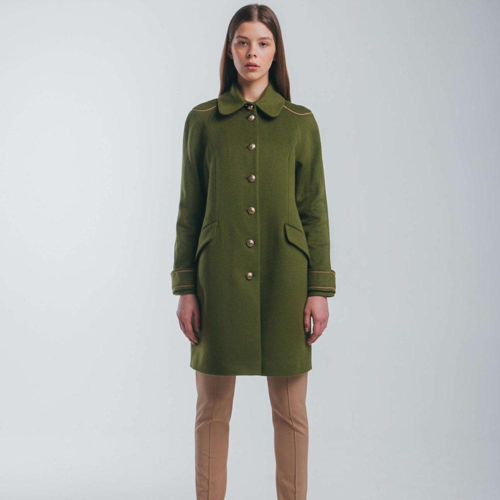 Muza women's Embellished military style coat
