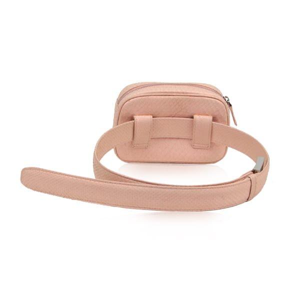 Python Leather Waist Bag