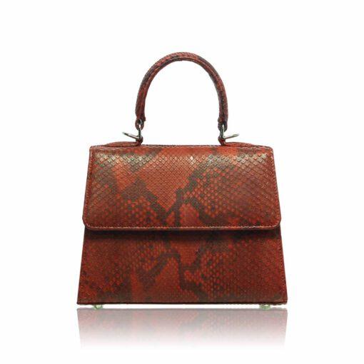 Goldmas 18 Python Skin Handbag