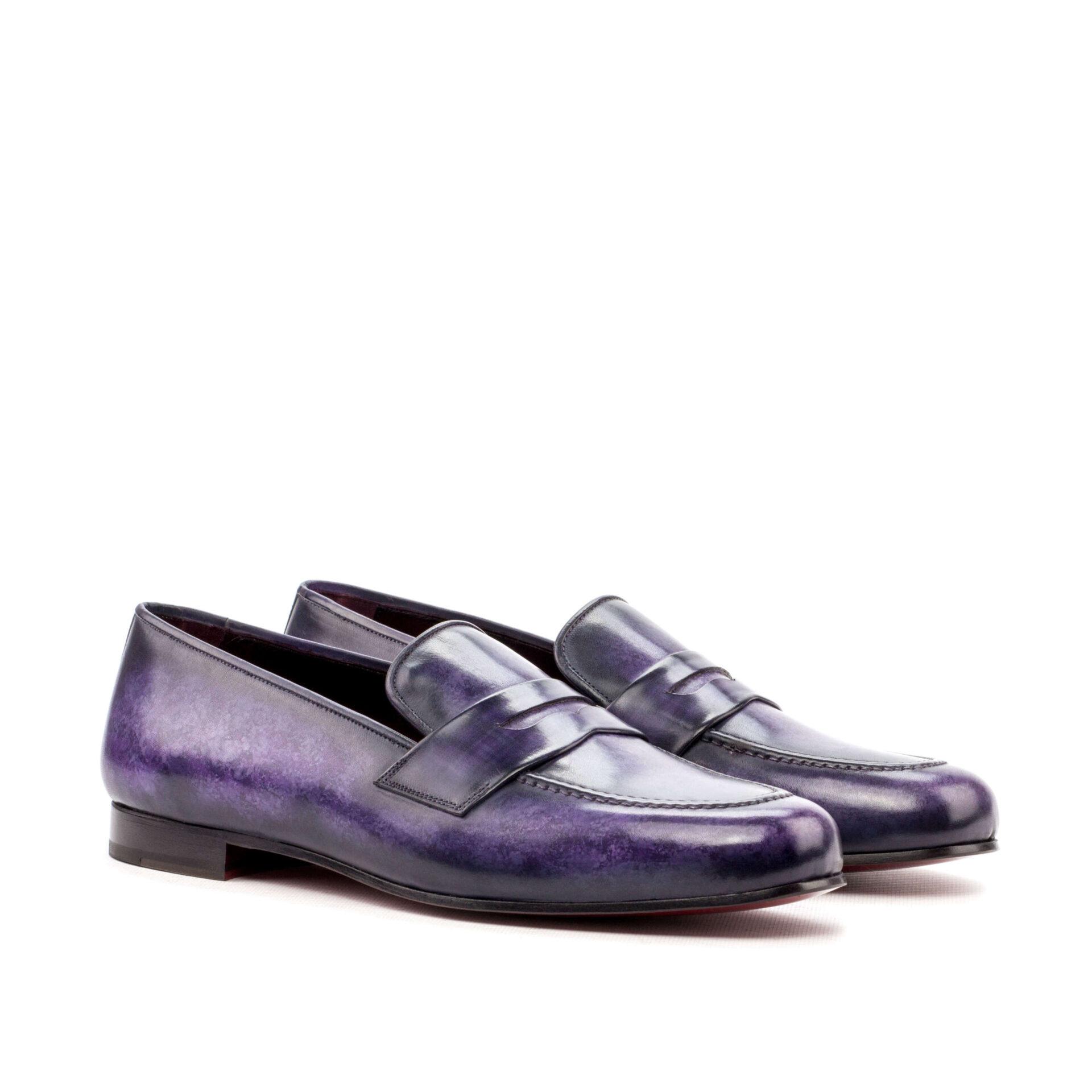 Hand Made Patina Wellington Shoe