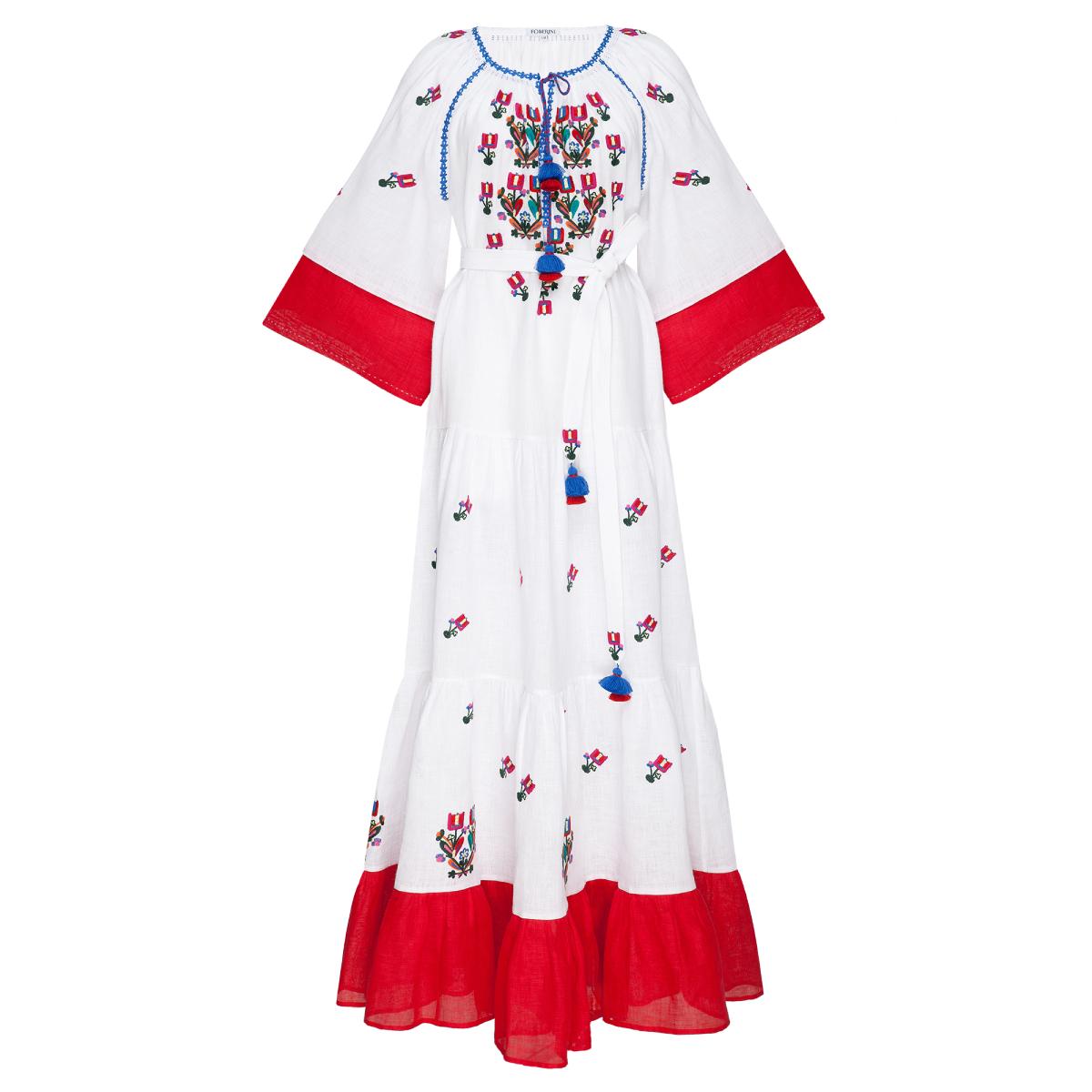 Omelia Chic Dhite Maxi Dress