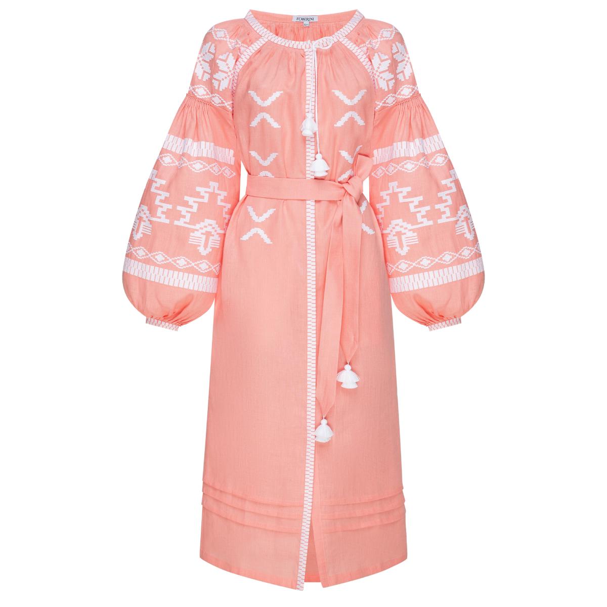 Tina Powder Midi Dress
