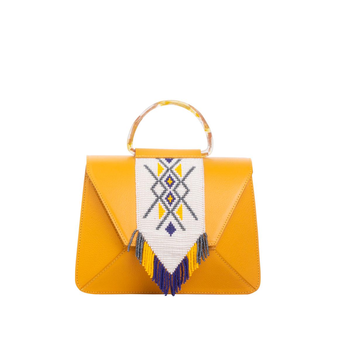 Choco Yellow Mini Brief Bag