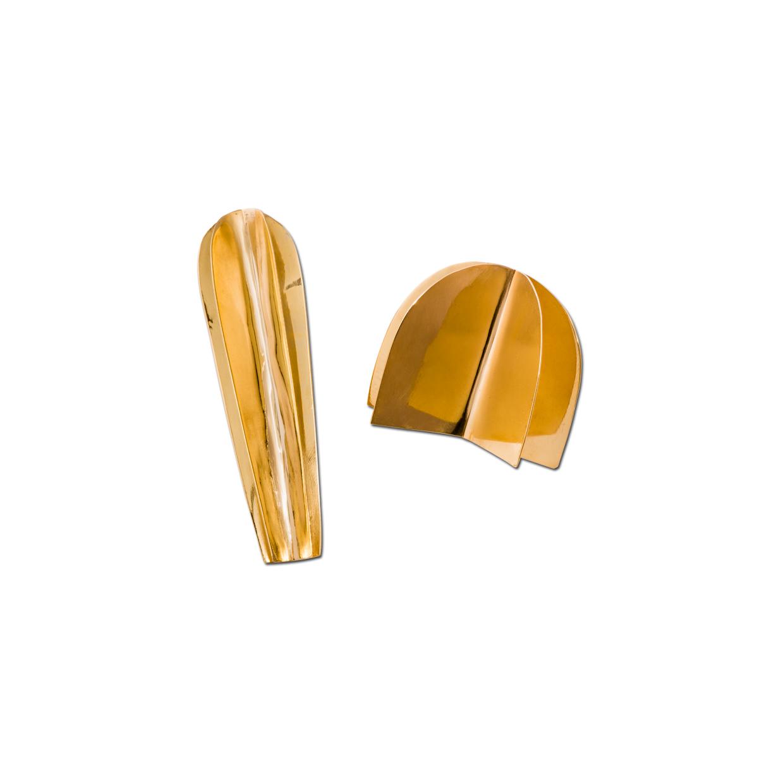 Alejandra de Coss women´s opuntia gold plated earrings