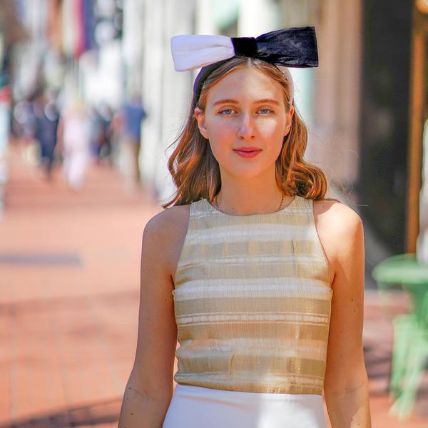 Silk Bow Headband | Designer Bow Headbands | Luxury Bow Headband