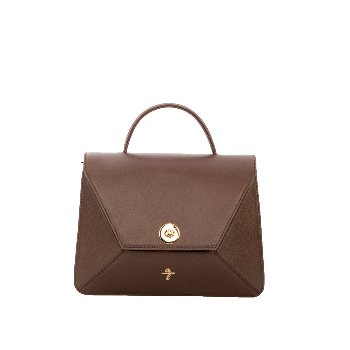Brown Mini Brief Bag