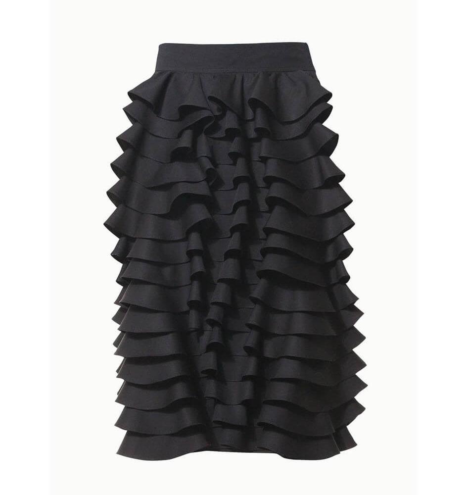 talented_black_ruffle_skirt