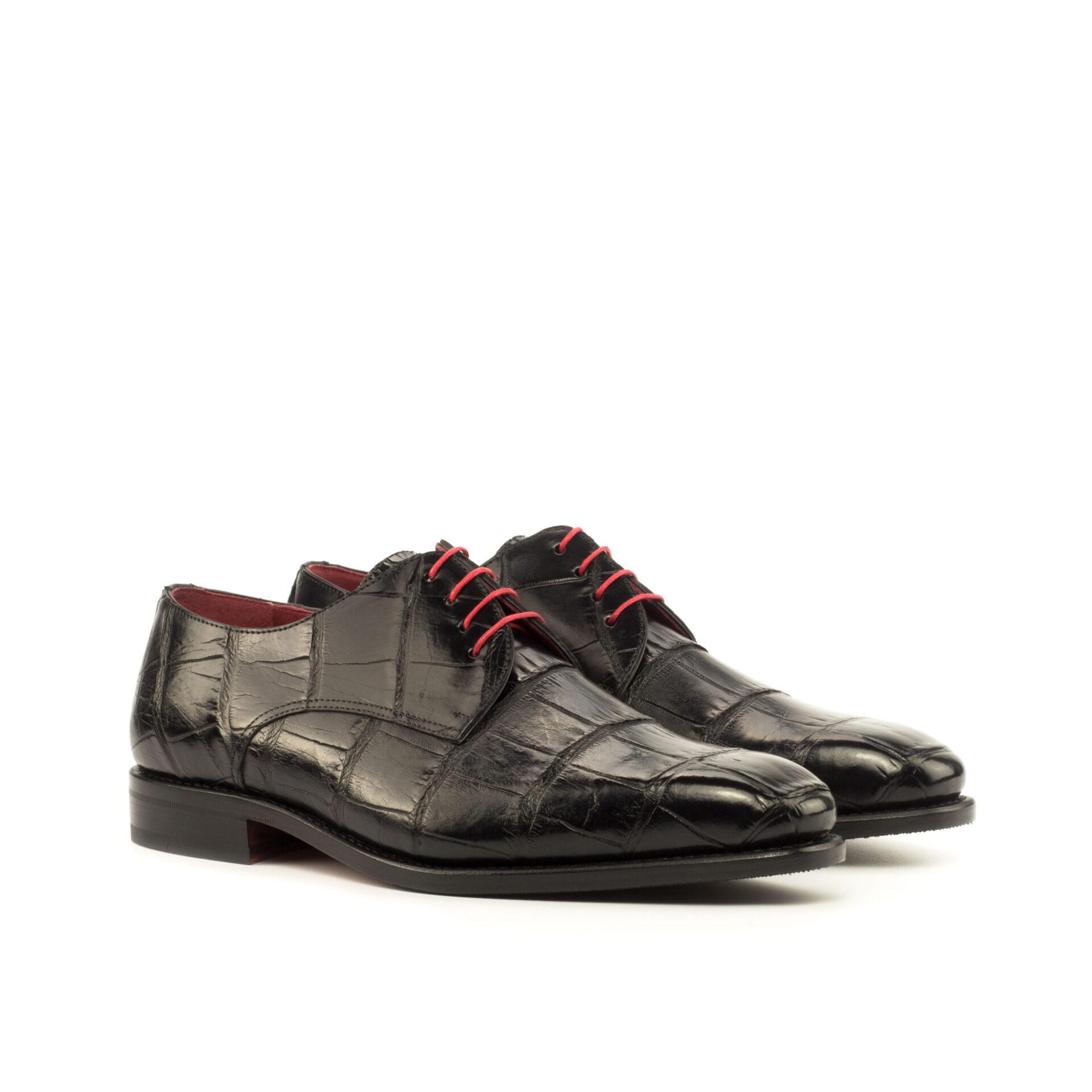 Exotic Skins Derby Shoe