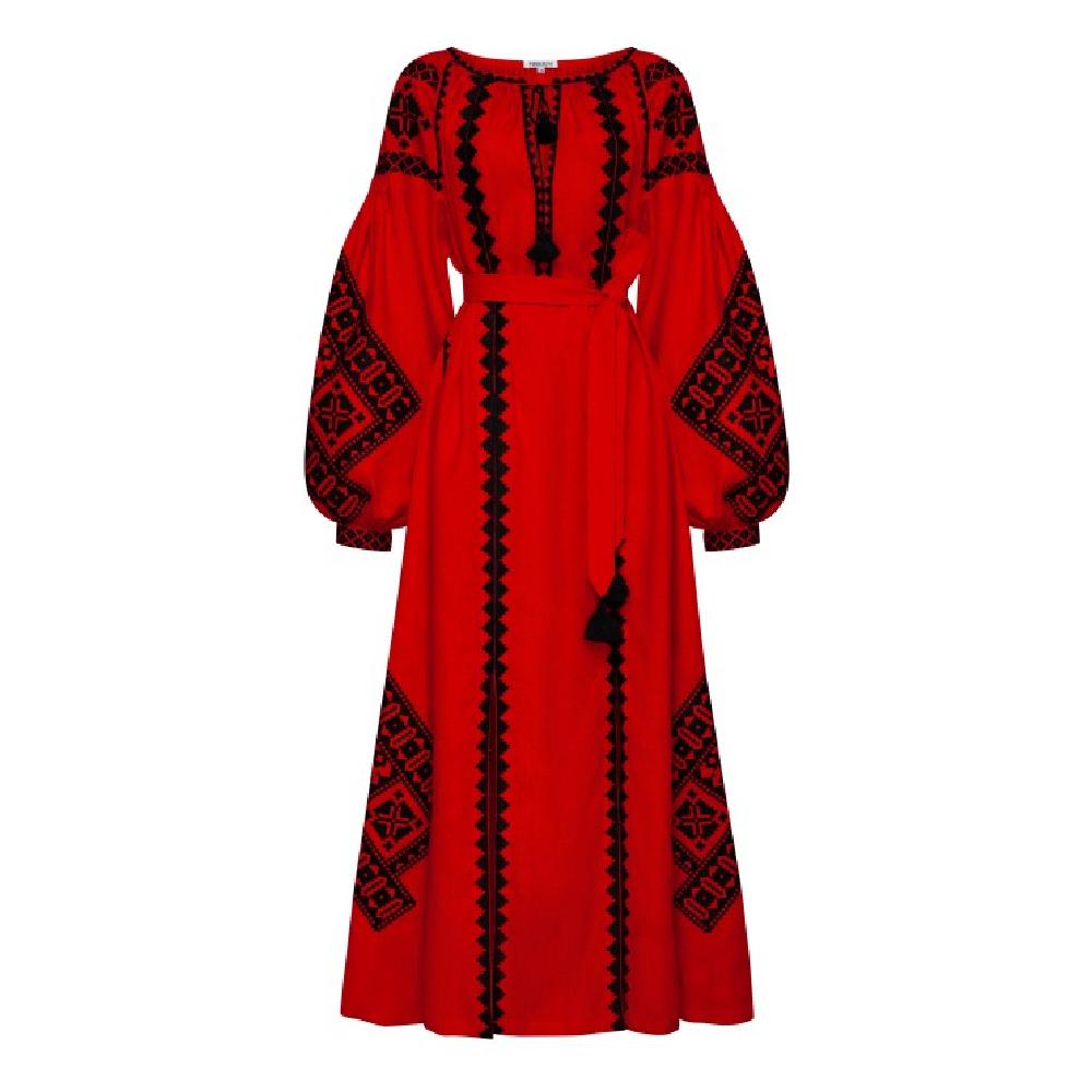Maxi dress red bereginya