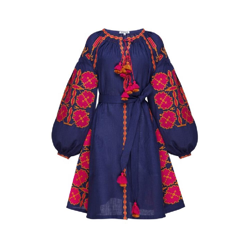 Malva blue mini dress