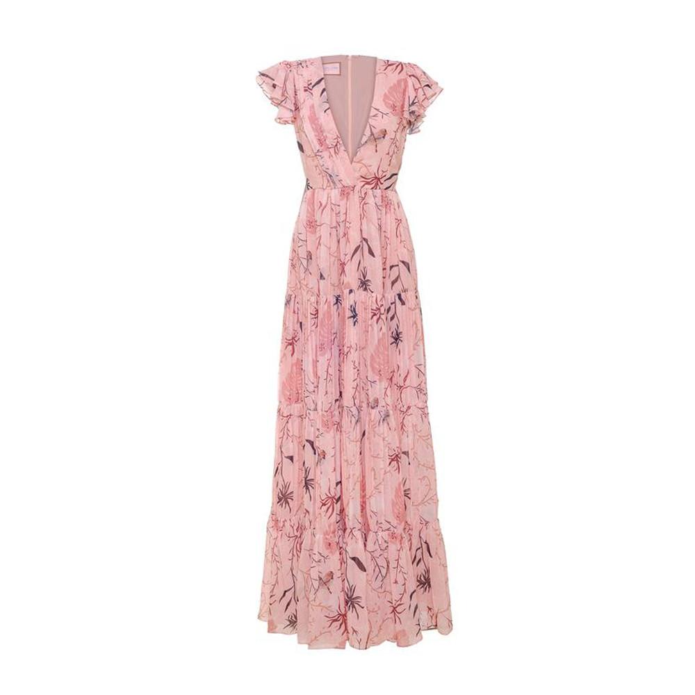 Cerezo pink maxi dress