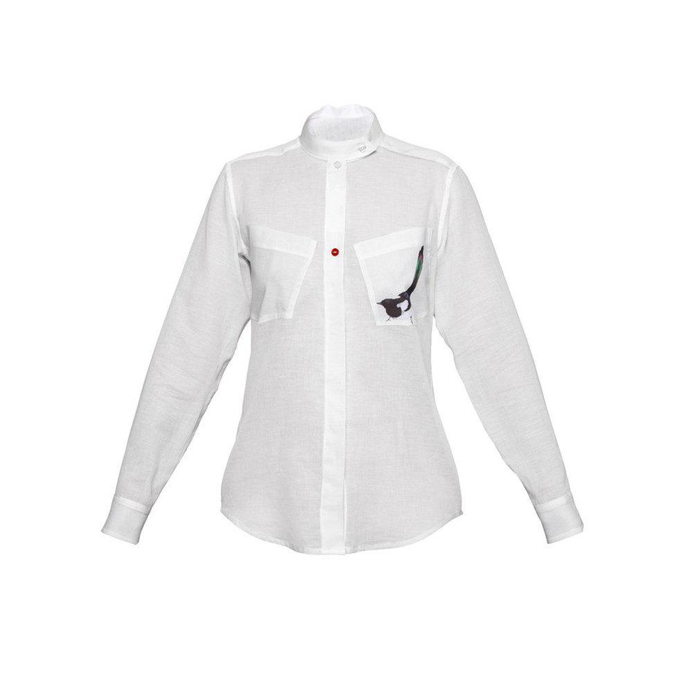 women plain white shirt