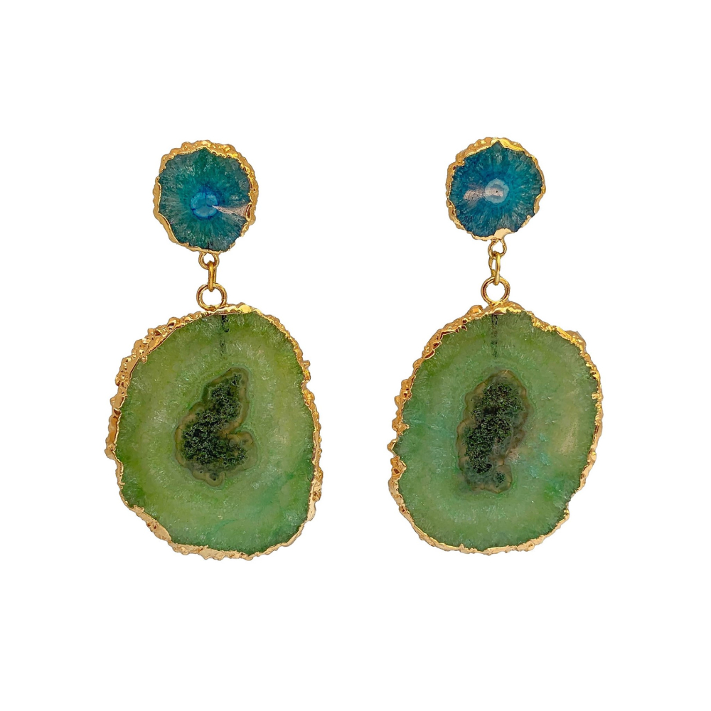 Kiwi marmalade earrings