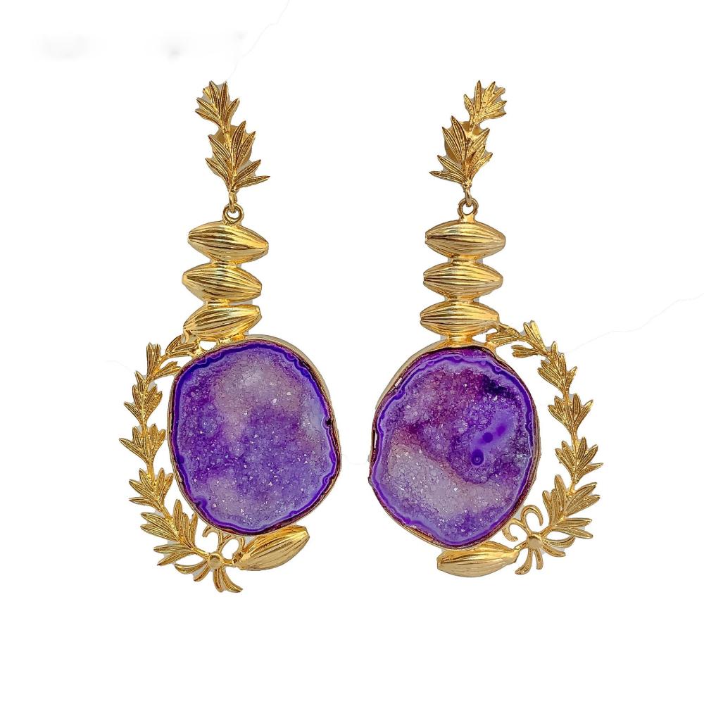 Roman glory earrings