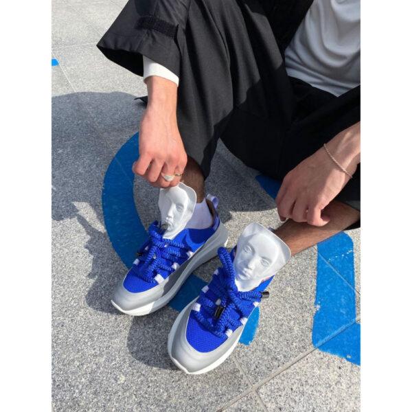 man wearing ganor dominic sneaker